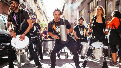 Photo of 28 bandas fusionan raíces brasileiras, latinoamericanas y europeas. 54 conciertos a pie de calle reflejan la diversidad étnica de Lavapiés